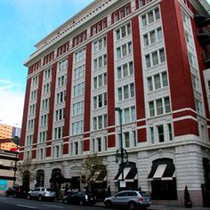 Hotel Teatro - Denver (Molly interviewed Taylor Lautner here when the Twilight movie was coming out). State Of Colorado, Denver Colorado, Downtown Hotels, Keep The Lights On, French Architecture, Travel Bugs, Oh The Places You'll Go, Best Hotels, Twilight Movie