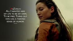 #Eretria: All I wanted was my life to be my own. To be free. Turns out fate has a twisted sense of humor.  More on: http://www.magicalquote.com/series/the-shannara-chronicles/ #TheShannaraChronicles