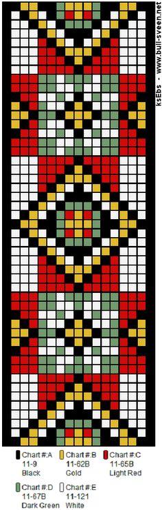 Perlesøm på stramei, bunad. – Vevstua Bull-Sveen Bead Loom Patterns, Beading Patterns, Cross Stitch Patterns, Seed Bead Jewelry, Beaded Jewelry, Seed Beads, Jewellery, Filet Crochet, Loom Beading