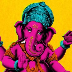 Pop Art - Ganesha