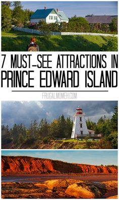 7 Must-See Attractions in Prince Edward Island whether travelling solo or on a family travel vacation in Canada! 7 Must-See Attractions in Prince Edward Island whether travelling solo or on a family travel vacation in Canada! East Coast Travel, East Coast Road Trip, Cool Places To Visit, Places To Travel, Travel Destinations, Prince Edward Island, Canada Winter, East Coast Canada, Voyager Seul