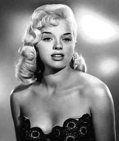 1930's hairstyles for women | Movie Hairstyles - Diana Dors