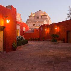 My hometown Santa Catalina Convent Bolivia, Religious Architecture, Lima Peru, Peru Travel, White City, Need A Vacation, South America Travel, Travel Memories, Machu Picchu