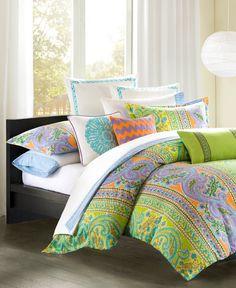 CLOSEOUT! Echo Calypso Duvet Mini Sets - Duvet Covers - Bed & Bath - Macy's