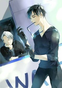 Hk hk~ I can see your sparkling eyes ~Victor 🙄🙄🙄