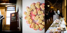 Dessert bar | Day Block Brewery Wedding Reception | Studio KH Photography | Sixpence Events & Planning | Uy-Lennon Floral