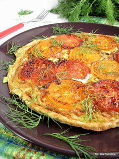 Omlet z pomidorami | Smaczna Pyza Quiche, Cooking, Breakfast, Food, Kitchen, Morning Coffee, Essen, Quiches, Meals