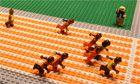 Usain Bolt wins gold in 100m final – brick-by-brick video Lego | Sport | guardian.co.uk