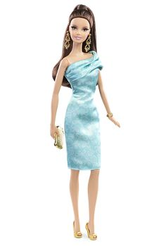 The Barbie Look Collection - Green Dress - Barbie Doll Fashions | Barbie Collector