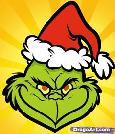Grinch Face I'm a grinch with