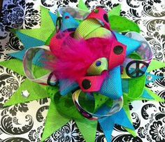 Cute hair bow for baby or little girly girl