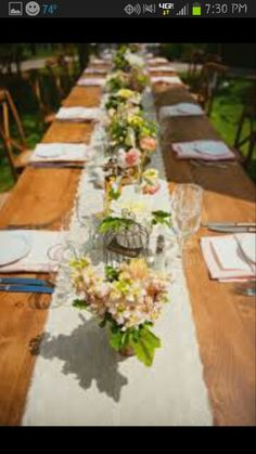 Table planning idea
