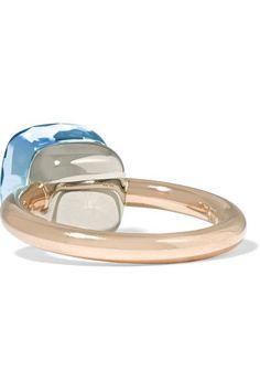 Pomellato - Nudo Classic 18-karat Rose Gold Topaz Ring - 13