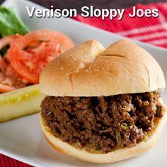 Venison Sloppy Joes