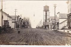RP: Main Street (dirt) , THORPE , Wisconsin , PU-1917 Item# SCVIEW424475 (273208547)