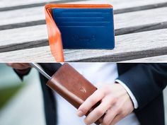 """We did our good deed for the day:) is spreading this time with our """"I love it. It is exactly what I was looking for."""" Thank you, Jake! Slim Leather Wallet, Handmade Leather Wallet, Slim Wallet, Good Deeds, Italian Leather, Card Case, Really Cool Stuff, Iphone 6, Make It Yourself"""