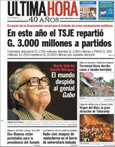 Murió Gabriel García Márquez. El mundo despide al genio Gabo.