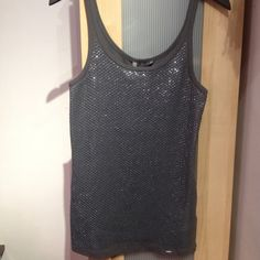 ❗️NYE Armani Exchange Sequin Tank never worn  NWT  amazing quality  purchased from the Armani Exchange store make an offer Armani Exchange Tops Tank Tops