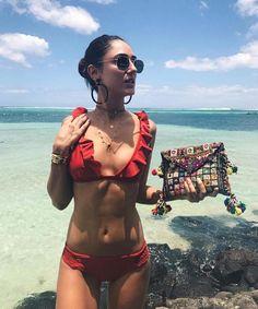 Bikini Swimwear Swimsuit Women Bikini Set Knot Rope Bathing Suit Biquini Beachwear Femme