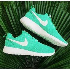 Zapatillas Sneakers Nike Roshe Turquesa
