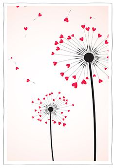 (or use stamped pencil rubber for round dots- dif… Dandelion stamped heart card. (or use stamped pencil rubber for round dots- different colours) Crayon Heart, Karten Diy, Arts And Crafts, Paper Crafts, Heart Cards, Watercolor Cards, Diy Cards, Easy Drawings, Homemade Cards