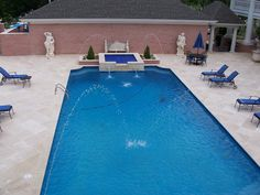 Noche Travertine Pool coping and paving