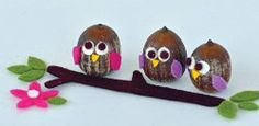 11 Acorn Crafts for Fall    She is loves acorns!   At least we can find something to do with them haha