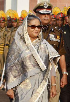 Bangladesh-Prime Minister Sheikh Hasina