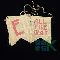 """Jingle All The Way"" DIY Linen Hanging Flag Bunting Decor Vintage Christmas Tree Banner Xmas Party Event Supplies"