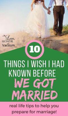 10 Things I Wish I Had Known Before We Got Married: These lessons earlier would have made all the difference! Great advice for engaged couples or newlyweds. via @sheilagregoire
