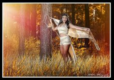 Pine Forest fashion shoot