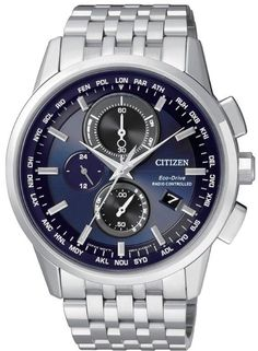 cc51ff6f4c13 Citizen Radio Controlled World Time Chronograph Eco Drive Mens Watch