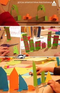 (^o^) Kiddo (^o^) Crafts - Paper Cities