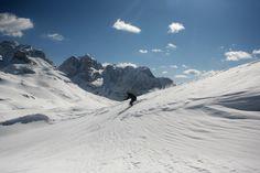 Exciting slope in the Skiarea Campiglio