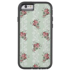 Vintage Girly Pink Floral iPhone 6 Case