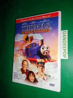 Thomas The Tank Engine Thomas and The Magic Railroad DVD Movie 2000 find me at www.dandeepop.com