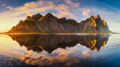 Magic Mountain by Rebecca North / Reflection Photography, Beauty Photography, Another Earth, Unique Image, Abstract Images, Great Shots, Beautiful Landscapes, Scenery, Magic