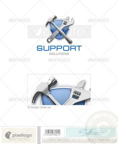 Home & Office Logo - 3D-214 — Photoshop PSD #fix #construction • Available here → https://graphicriver.net/item/home-office-logo-3d214/497453?ref=pxcr