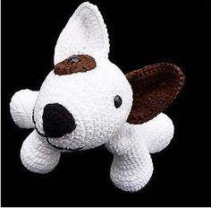 FREE Puppy Dog Amigurumi Crochet Pattern and Tutorial (use Google Translate)