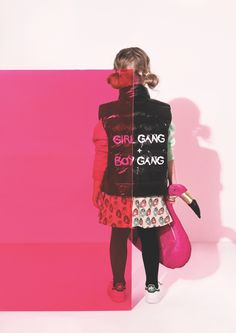 Girl gang, Boy Gang, it's all the same at Gardner and the Gang for winter 2016…
