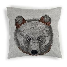 Mr. Bear to lay their sweet head - Soft Gallery Bear Pillow  - Huset-Shop.com | Your