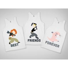 Best Friends Skreened T-shirts, Organic Shirts, Hoodies, Kids Tees,... via Polyvore