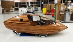 Wooden two seater solar electric velomobile by Nico van Baar