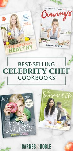 What's the next best thing to meeting your favorite celebrity chef? Cooking like them. Barnes & Noble is home to a huge collection of cookbooks from celebs like Chrissy Teigen, Melissa D'Arabian and Ayesha Curry. Shop today and start cooking like the stars.
