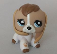 Littlest Pet Shop Dog Hasbro Collection Child  Figure Toy Loose Cute lps160