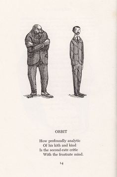 """Talk to the hand"" by Edward Gorey"