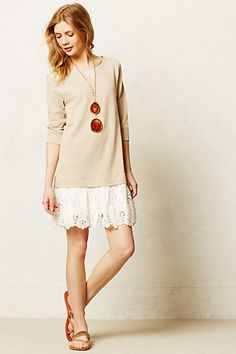 Synoptic Layered Tunic #anthropologie