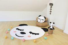Image of Alfombra infantil panda