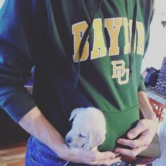 """""""Can I just hide here and go to work with you today dad?"""" #mondays #baylor"""