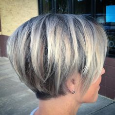 "Hair Beauty - Short Layered Haircuts for Fine Hair ""Layered Pixie Bob For Fine Hair So glad I found more. I'm tired of working against my hair! Bob Hairstyles 2018, Bob Hairstyles For Fine Hair, Pixie Haircuts, Short Gray Hairstyles, Natural Hairstyles, Layered Haircuts, Medium Hairstyles, Pixie Haircut Long, Bobs For Fine Hair"